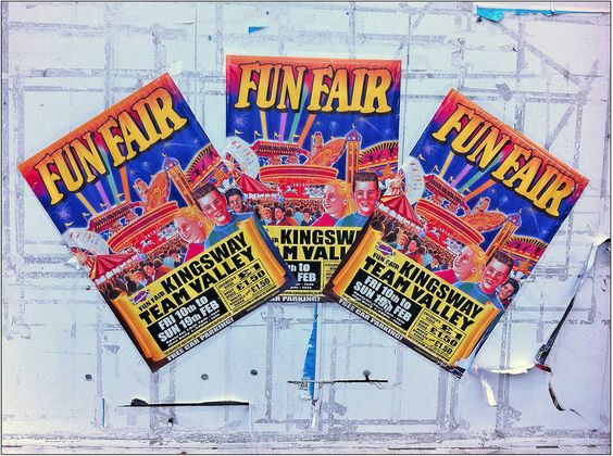 What should I write about in my funfair story?