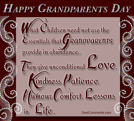 Grandparents Quotes with pics | Grandparents Day Pictures ...