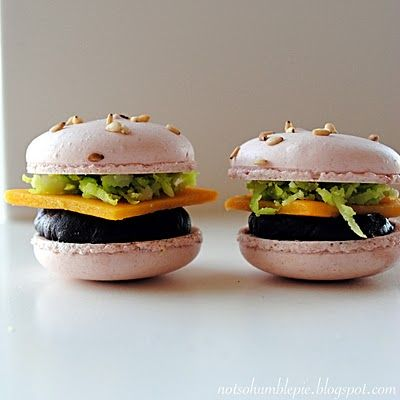 Big Mac Macarons