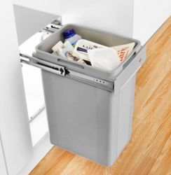 470x260x330mm Bio Single Waste Bin | Supplier - LDL Kitchen and Furniture Fittings & Accessories