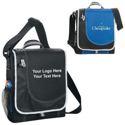 "Custom Imprinted Boomerang Messenger Bags: Available Colors: Black, Royal Blue. Product Size: 11"" H X 3"" W X 9.5"" L. Imprint Area: 5.00"" H x 4.00"". W, Deboss: Centered on front panel, Centered on patch: 1.00"" H x 2.50"" W. Carton Weight: 24.69 lbs. Packaging: 50 pieces. Materials: 600d Polycanvas and Diamond Non-Woven. #customboomerangbag #promotionalproduct #custombag"