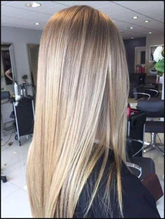 26 Summer Trend Straight Hair Ideas In 2021 Hair Styles Hair Junkie Straight Hairstyles
