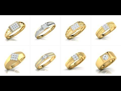 Gold Ring For Men Stud With Diamond Tanishq Youtube Rings For Men Gold Rings Rings,Singleton Design Pattern C
