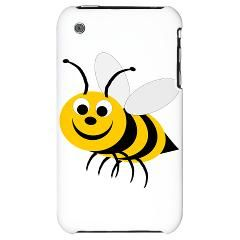 Bee Happy With Your iPhone 3G Hard Case #bees #iphone3