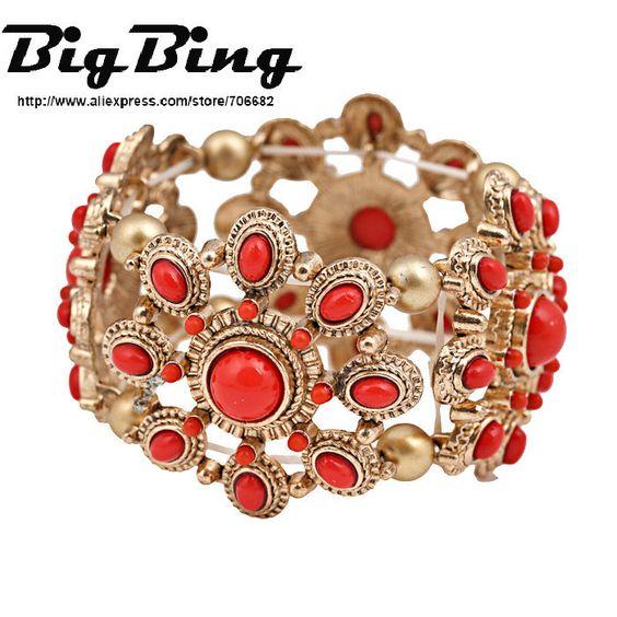 bigbing 2014 moda jóias acessórios de moda moda transporte pulseira livre q446 em Braceletes de fio de Jóias no AliExpress.com
