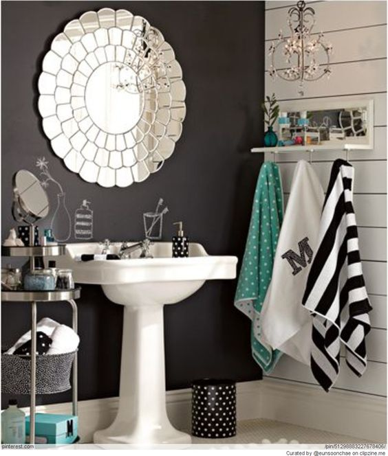 Bathroom Pic Girl: Turquoise, Vanities And Ideas For Bathrooms On Pinterest
