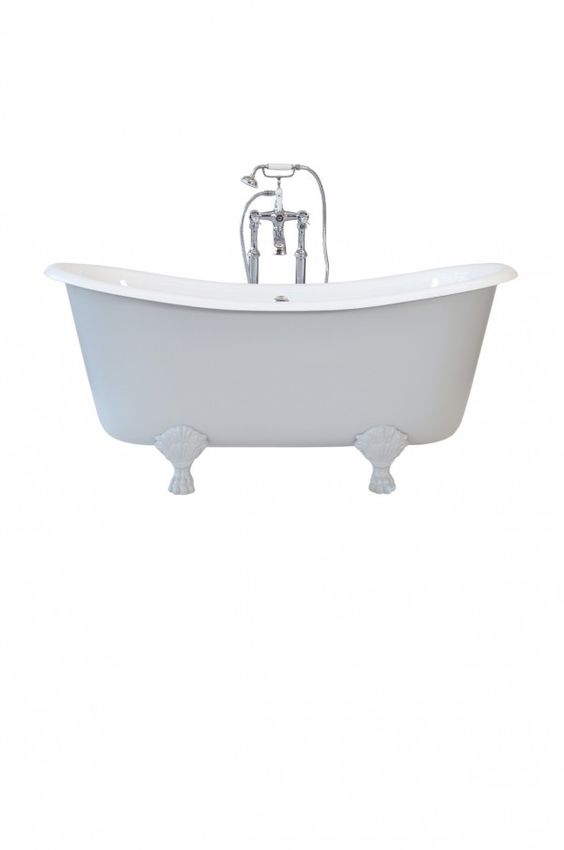 The Saint Malo Bateau Roll Top Bath | Bateau Bath | Roll Top Bath Cast iron bath company