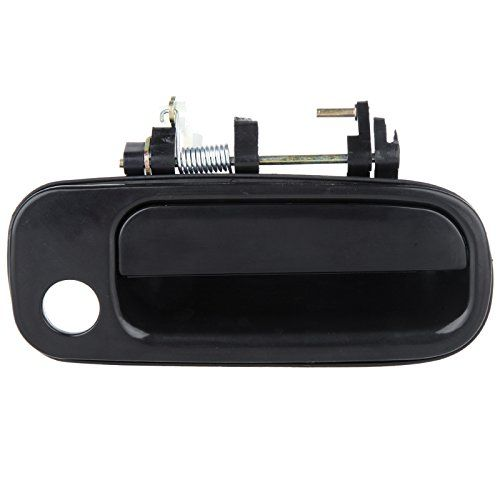Eccpp Door Handle Exterior Outside Outer Front Passenger Side For 1992 1996 Toyota Camry Black Krut 3 Door Handles Toyota Camry Exterior