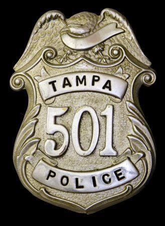 Tampa, Florida Police Badge