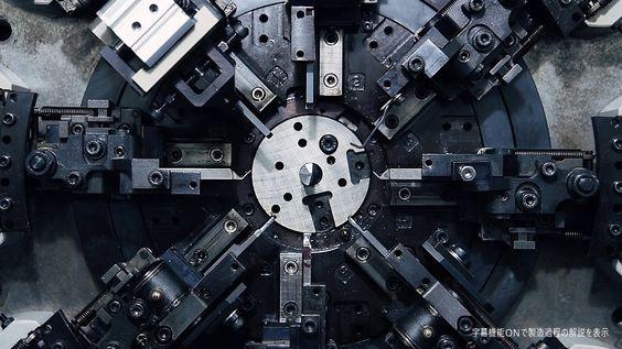 Wirkt irgendwie schon sehr sexy, diese Metallfedermaschine Closeups, festgehalten von Industrial Japan. Faszinierend! Hier noch ein paar weitere hypnotische Clips aus dem YT-CHannel: