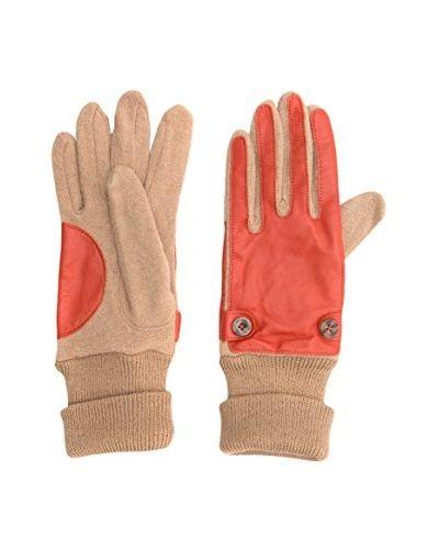 Big Star Guanti Gloves Women Glv 3114  [Corallo/Beige]