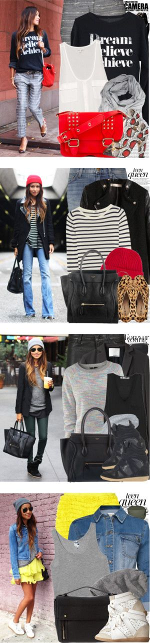 """Bloggers Style: Sincerely, Jules"" by nastyaafanasova ❤ liked on Polyvore"