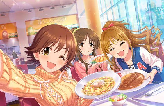 本田未央パスタを食べる画像