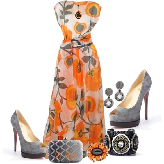 A fashion look from March 2014 featuring Christian Louboutin pumps, SUEDE clutches and Opposite rings. Browse and shop related looks.