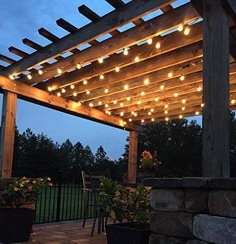 ボード Decor Lighting のピン, Clear Patio String Lights