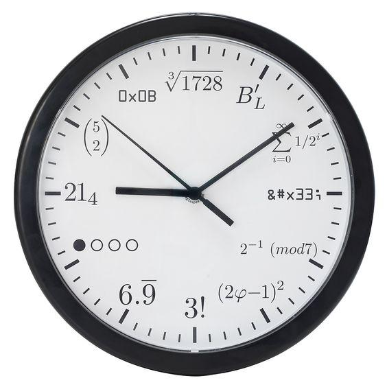 Geek Clock $25.00