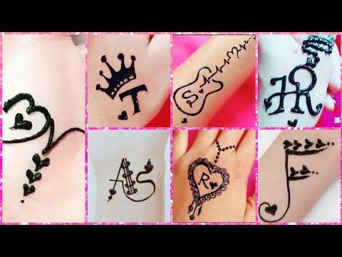 أحدث رسومات حنة سهلة بسيطة رسومات تاتو رقيقة كيوت سمبل لاجمل بنات Youtube Mehndi Designs For Girls Art Drawings Sketches Simple Mehndi Designs