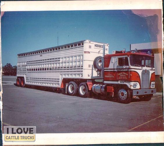 "Thanks and all credits to Ronald Pethick Jr.  ""1970 Kenworth Burts Cattle Ranch"""