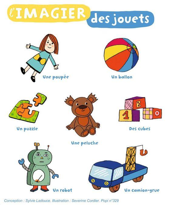 Zabawki - słownictwo 2 - Francuski przy kawie