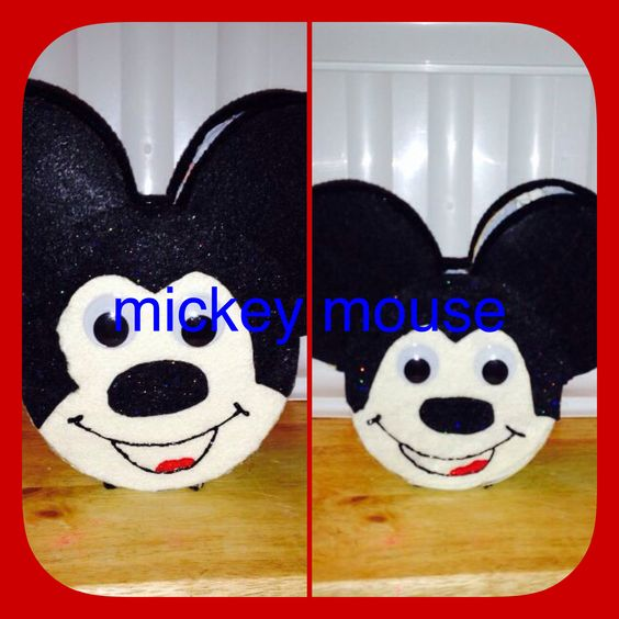 Mickey Mouse Easter basket homemade