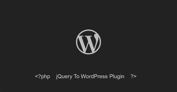 How to turn any jQuery plugin into a WordPress one