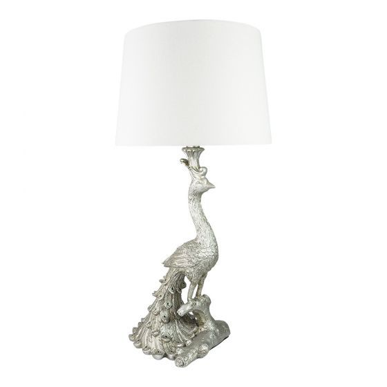 Peacock Table Lamp 68cm Classic Table Lamps Lighting Fans Traditional Table Lamps Jar Table Lamp Classic Table Lamp