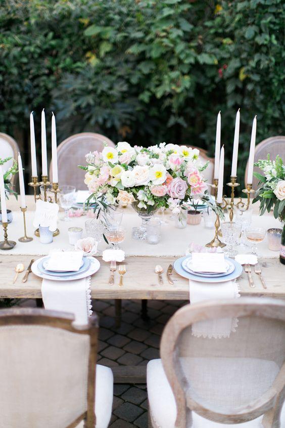 Rose Gold + Spring: Pink Wedding, Table Decor, Wedding Ideas, Wedding Decor, Follow Wedding, Dream Wedding