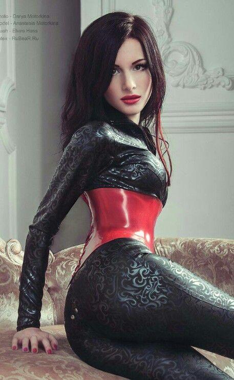 Sexy latex girl