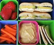 A really cool lunch menu planner that could really help me get the kiddos eating more of a variety.