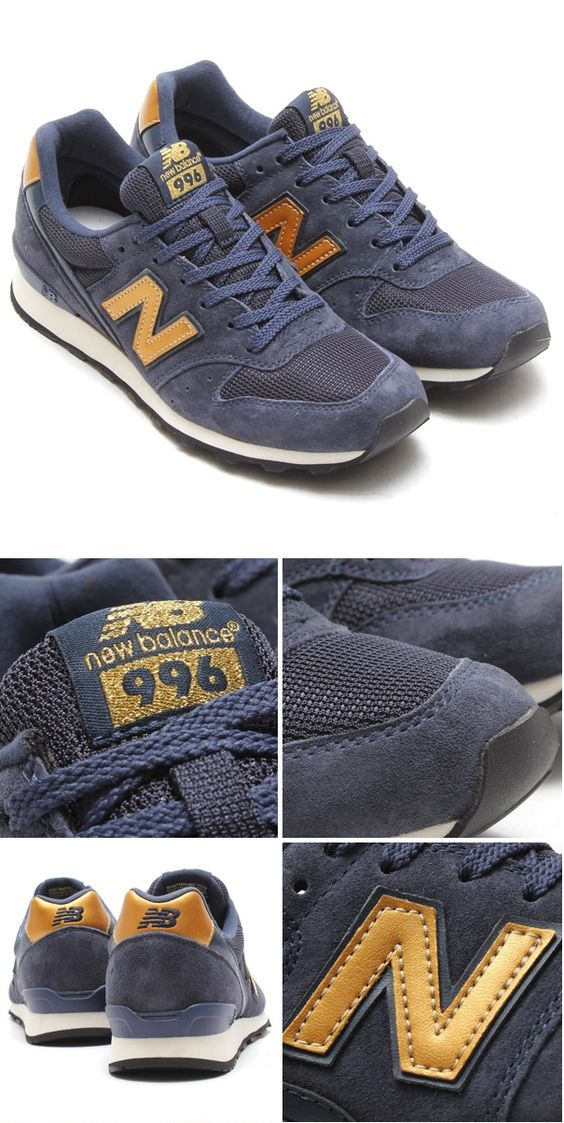 New Balance 996 Women, New Balance Dames, New Balance Navy, Womens New Balance Shoes, Fashion Trendy, 2016 Fashion, Fashion Looks, Trendy Outfits, ...
