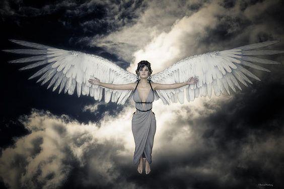 Angel In The Sky Digital by Ramon Martinez #angel #sky