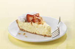 Strawberry-Pina Colada Pie recipe