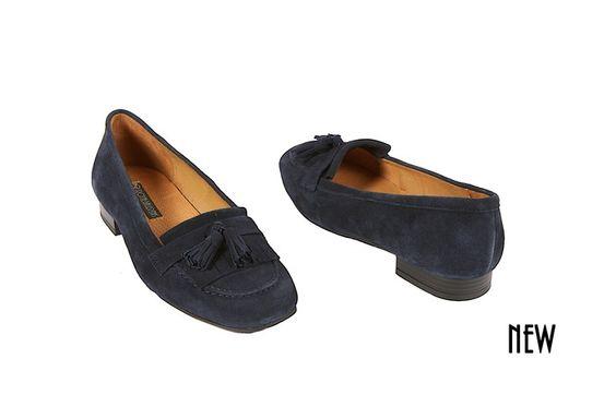 Marineblauwe college schoenen - College schoenen - schoenen - - ...
