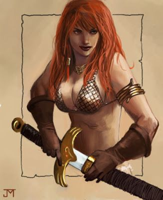Calvin's Canadian Cave of Coolness: More Glorious Girls Of The Redheaded Rebellion
