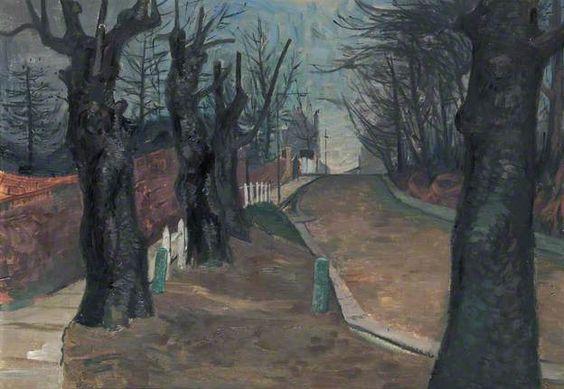 Southwood Lane, Highgate - Violet Fuller