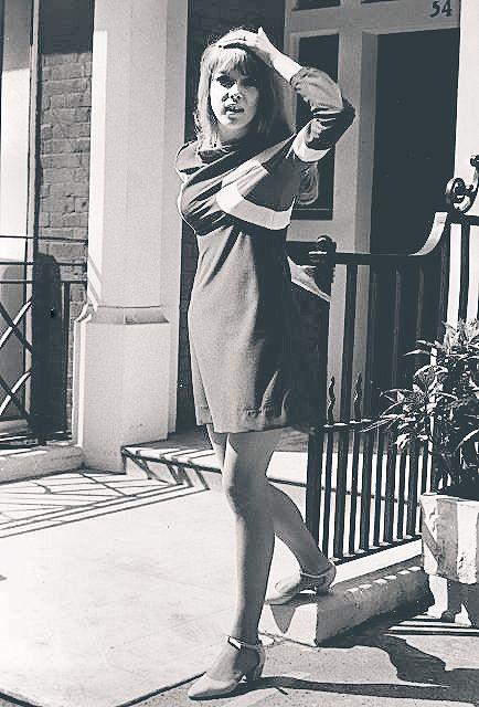 pattieboydlove:   Pattie in London. / Its 1967