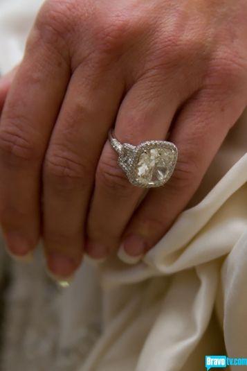 Kim Zolciak's stunning ring