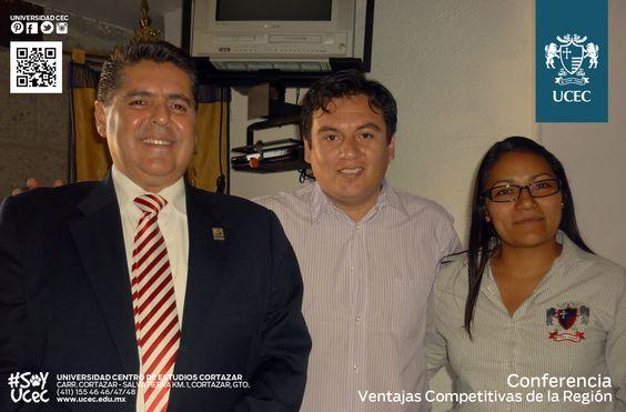Conferencia ¨Ventajas competitivas de la región¨ con Fernando Jiménez Lemus, subdirector general de Desarrollo Económico de Celaya.