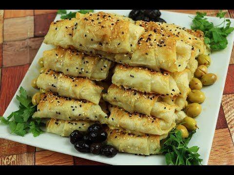 فطور صباحي تركي لذيذ بالجبنة بوريك الجبن سريعة التحضير مع رباح محمد الحلقة 606 Youtube Cooking Savory Appetizer Home Cooking