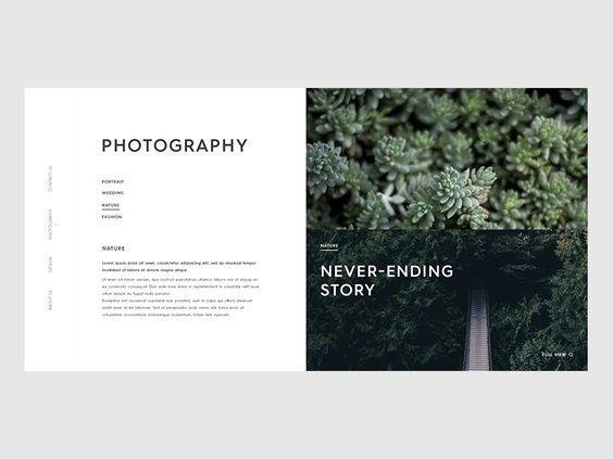 Portfolio Webdesign