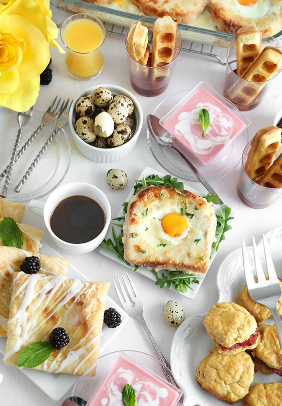 My Mother's Day Brunch Menu with Recipes