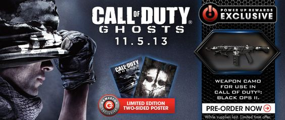 Preorder or buy call of duty ghosts