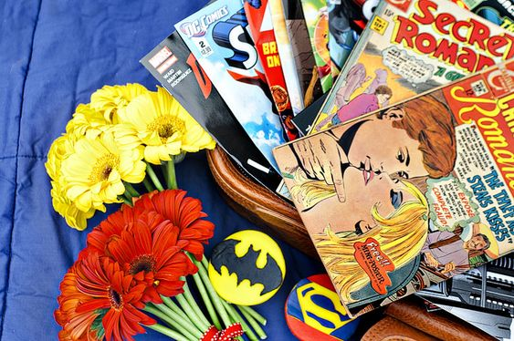 Comic Book Themed Together Shoot | Mary Costa Photography