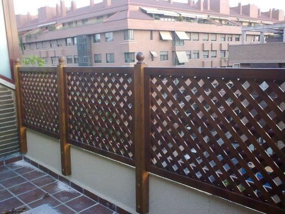 Celosias vallas jardineras bancos pergojardin - Vallas para jardin ...