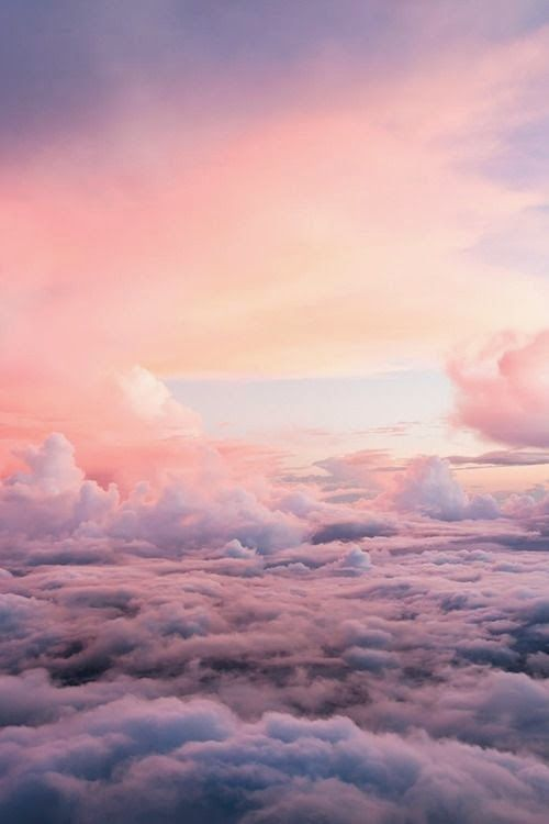 Eva Inspiration Weichpastell Lauf Eva Laufen Wallpaper Designs Sky Aesthetic Beautiful Sky Clouds