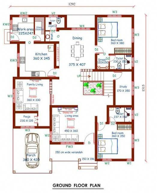 4 Bedroom Stunning Mix Designed Modern Home In 2997sqft Free Plan Free Kerala Home Plans Modernh Free House Plans Home Design Floor Plans Indian House Plans