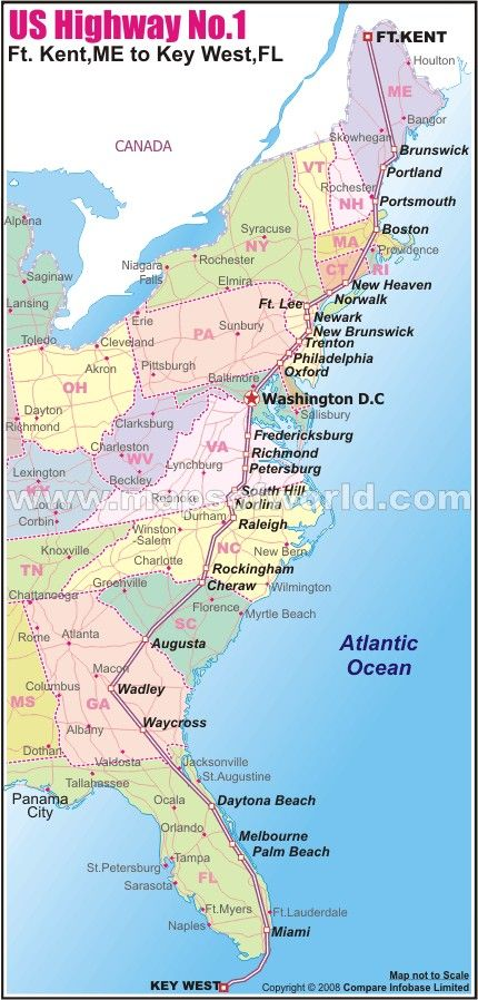 Best Interstate Highway Map Ideas On Pinterest East Coast - Us highway 80 map