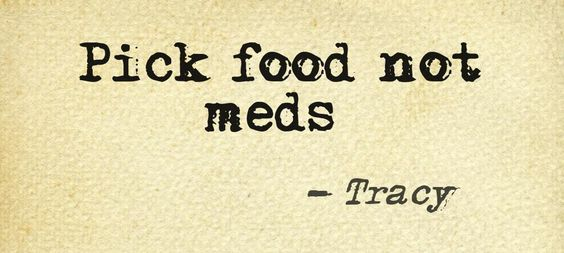 #food is #medicine! Put your #health first!
