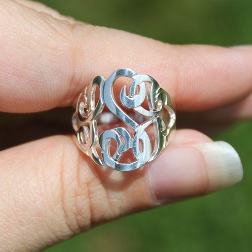Monogram Ring -