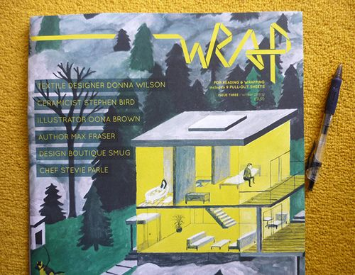 Review: Wrap magazine via @pikaland